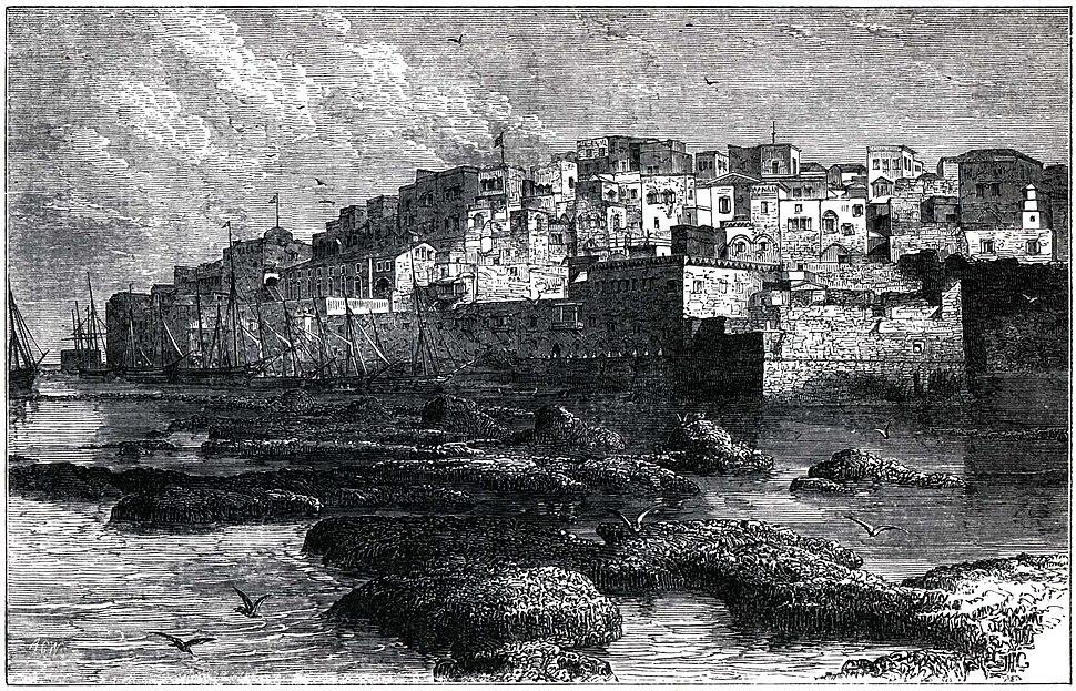 Jaffa engraving