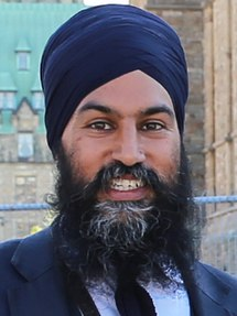 Jagmeet Singh Leader of the New Democratic Party