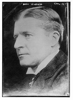 James Burns, 3rd Baron Inverclyde - James Burns, 3rd Baron Inverclyde in 1919