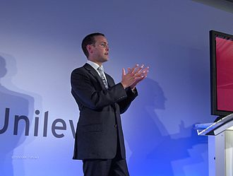James Murdoch - Murdoch at a digital media conference in 2006