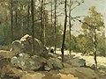 Jan Hendrik Weissenbruch - Bosgezicht nabij Barbizon.jpg