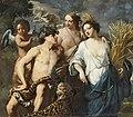 Jan Miel - Ceres, Bacchus and Venus, 1645.jpg