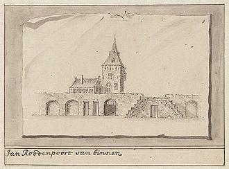 Antonina Houbraken - Jan Rodenpoortstoren, Amsterdam