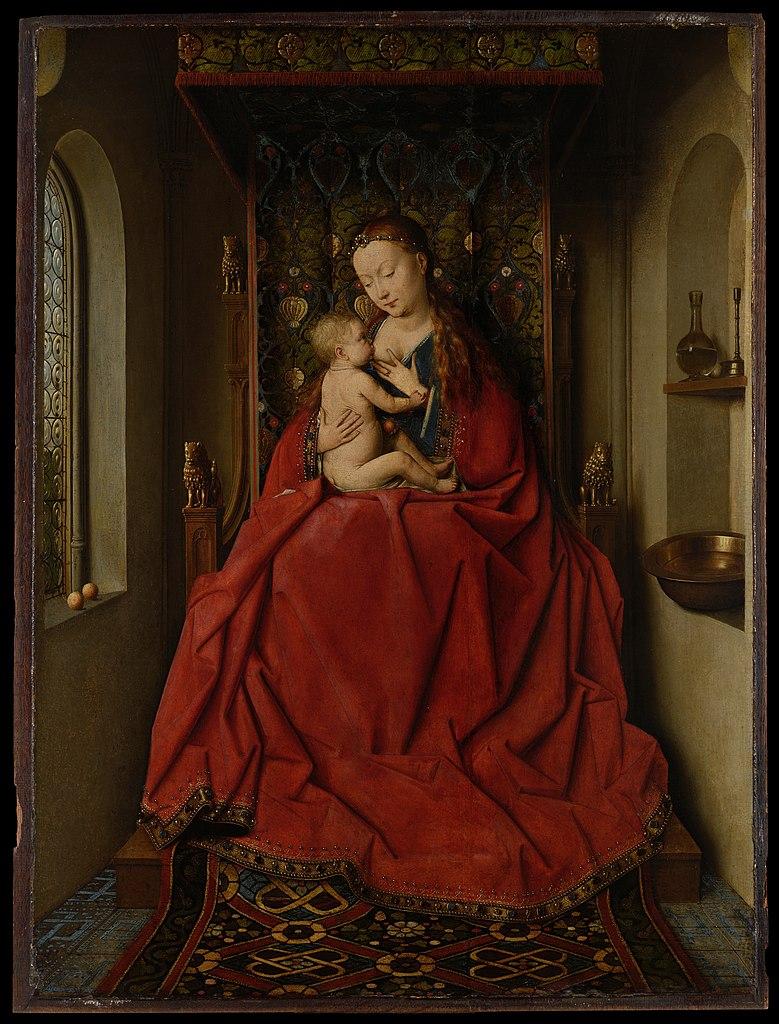 Renaissance Painting Glass