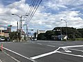 Japan National Route 500 in front of Mountain Hell Hot Spring.jpg