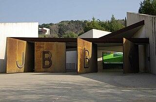 botanical garden in Barcelona, Spain