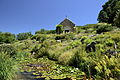 Jardin botanique du Montet - chapelle Sainte-Valérie et alpinum.jpg
