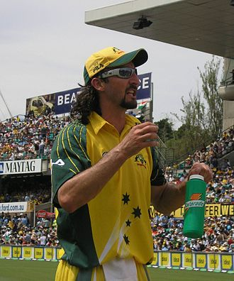 Indian cricket team in Australia in 2003–04 - Jason Gillespie severely tested the Indian bowlers as was expected of him