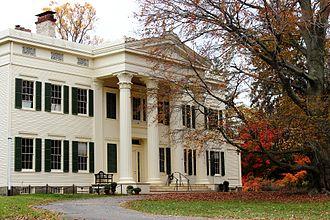 Save America's Treasures - 1838 Peter Augustus Jay House Rye, NY, 2002 Awardee