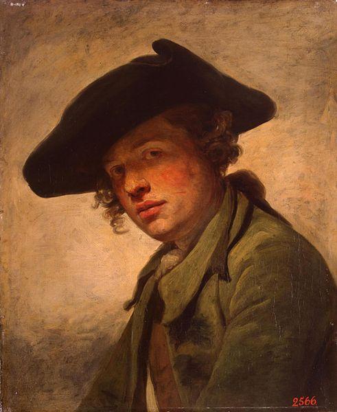 [Culture]Les Couvres-Chefs 491px-Jean-Baptiste_Greuze_-_Portrait_of_a_young_man_in_a_hat_(1750s)