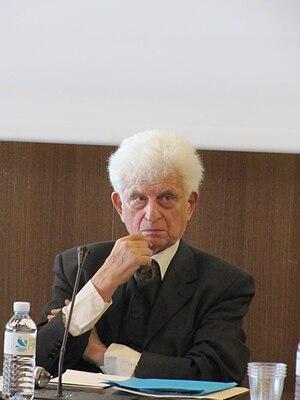 Français : Jean Bollack en février 2011