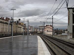 Gare de Lyon-Jean Macé - Image: Jean Macé 3