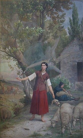 Jules Eugène Lenepveu - Image: Jeanne d'Arc Panthéon I