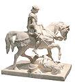 Jeanne d'Arc pleurant à la vue d'un anglais blessé-Marie d'Orléans-MBA Lyon 2014-02-2.jpg