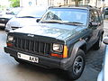 Jeep Cherokee Classic right-hand-drive in Warsaw Poland.jpg
