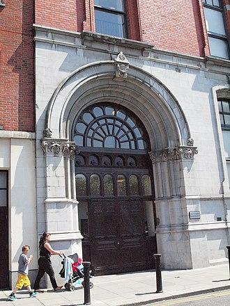 Jervis Street Hospital - Jervis Street Hospital, doorway detail