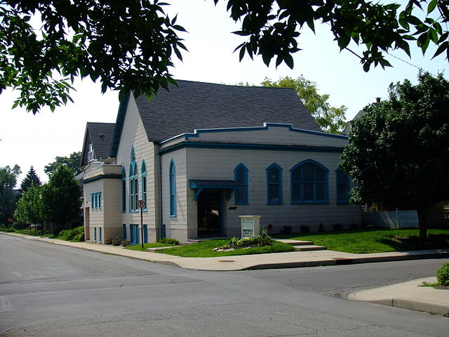 Jones's first church in Indianapolis, Indiana.
