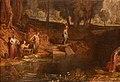 Jmw turner, la dea della disocrdia sceglie il pomo della contesa nel giardino delle esperidi, ante 1806, 02.jpg