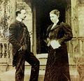 Joachim Carvallo et Ann Coleman, propriétaires du château de Villandry au début du XXe siècle.JPG