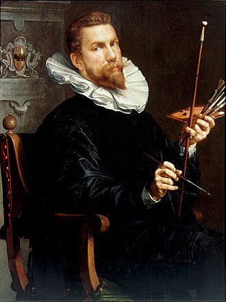 Joachim Wtewael - Self-portrait, 1601