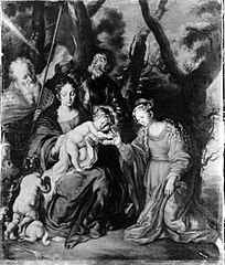 Die mystische Vermählung der hl. Katharina (Kopie nach)
