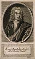 Johann Christian Kundmann. Line engraving by (M. B. filius). Wellcome V0003281.jpg