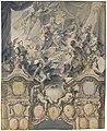 Johann Evangelist Holzer, The Arts and Powers Pay Homage to Emperor Charles VI, 1732, NGA 139120.jpg
