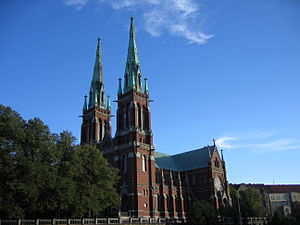 St. John's Church, Helsinki - Image: Johanneksenkirkko Helsinki 2006 08 15