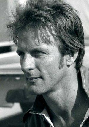 John Button (racing driver) - Rallycrosser John Button in 1978