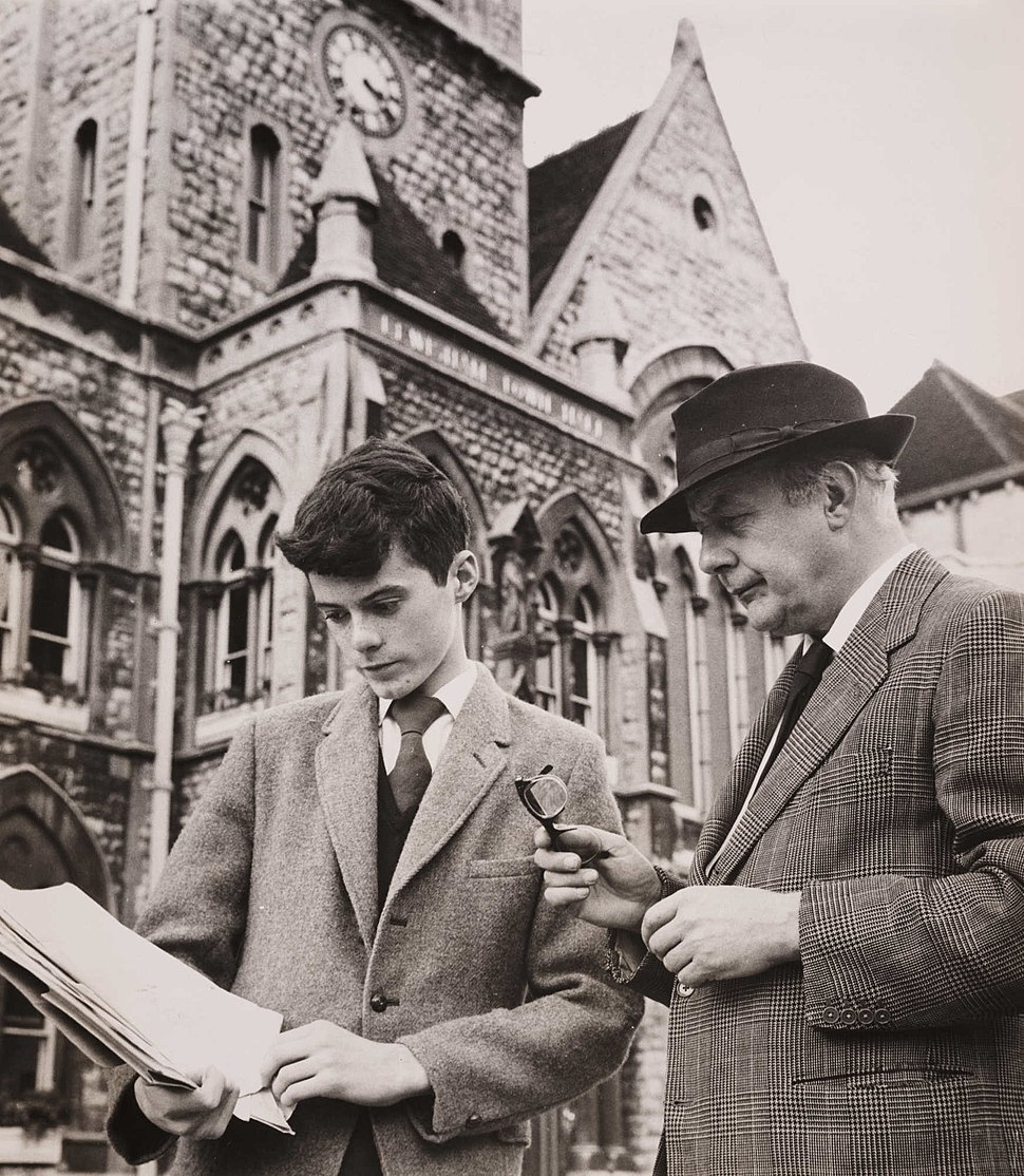 John Betjeman Reads William Horton%27s Petition to Save Lewisham Town Hall, 1961