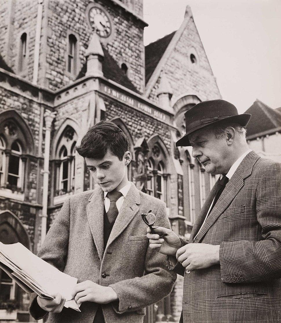 John Betjeman Reads William Horton%27s Petition to Save Lewisham Town Hall, 1961