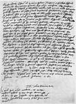 John Calvin, letter to Philip Melanchthon, 1545.jpg