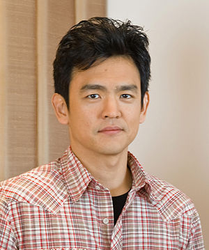 John Cho, promoting Harold & Kumar Escape from...