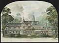 John N. A. Griswold house (now Newport Art Museum), Newport, Rhode Island. Southeast elevation. Rendering) - R. M. Hunt, Archt., 128 Bdway LCCN2013648676.jpg