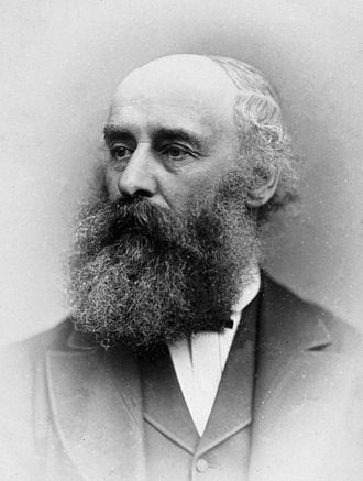 John Syer Bristowe - John Syer Bristowe, 1881 photograph.