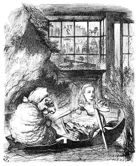 John Tenniel Alice Rows the Sheep.jpeg