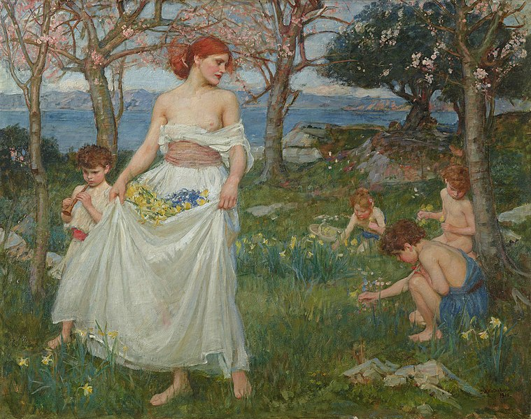 Primavera de William Waterhouse