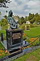 Johnny Ramone grave tombstone at the Hollywood Forever Cemetery.jpg
