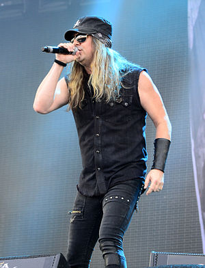 Johnny Solinger - Performing at Wacken Open Air in 2014