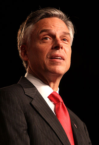 Jon Huntsman Jr. - Huntsman speaking at a political conference in Orlando, Florida in September, 2011.