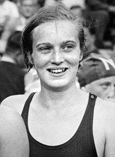 Jopie Selbach swimmer