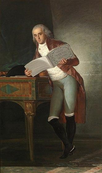 José Álvarez de Toledo, Duke of Alba - The Duke of Alba by Francisco de Goya, 1795