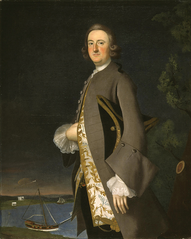 Portrait of Captain John Pigott