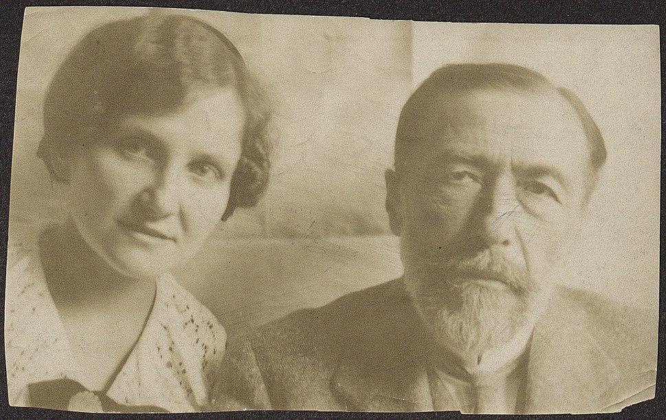 Joseph Conrad z Anielą Zagórską (1914)