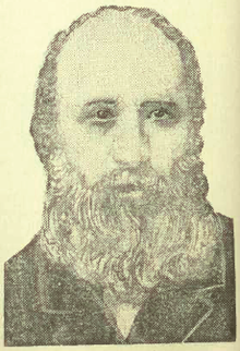 Portrait de Joshua George Beard