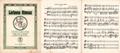 Juozas Tallat-Kelpša book with the national anthem of Lithuania and Vytis (Waikymas).png