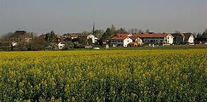 Jussy, Switzerland - Image: Jussy Village