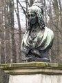 Jutta Freifrau von Droste zu Hülshoff, Büste im Park der Burg Hülshoff bei Münster.tiff