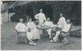 KITLV - 12642 - Kleingrothe, C.J. - Medan - Staff of the plantation Klambir-Lima Deli - 1903.tif
