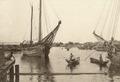 KITLV - 79907 - Kleingrothe, C.J. - Medan - Rochor, harbour for proas of Singapore - circa 1910.tif